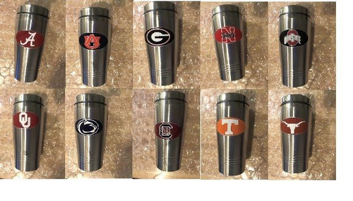 NCAA Stainless Steel Tumbler Pick Your Team 16oz