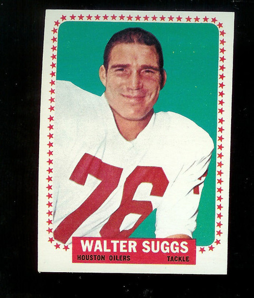 1964 Topps Football #84 Walter Suggs Houston Oilers NRMT SP