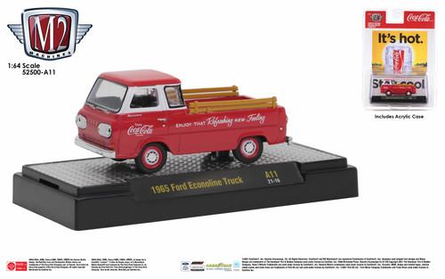 M2 Machines Coca-Cola Release A11 1965 Ford Econoline Truck