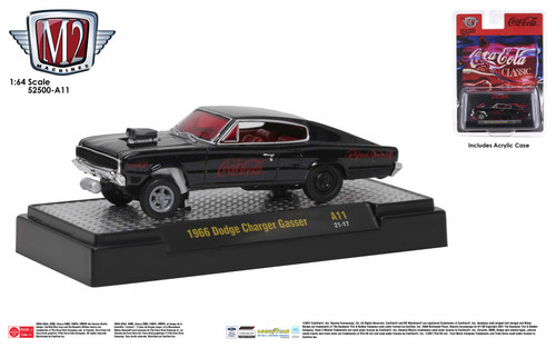 M2 Machines Coca-Cola Release A11 1966 Dodge Charger Gasser