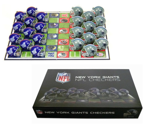 Official NFL Checker Set - Choose Your Team