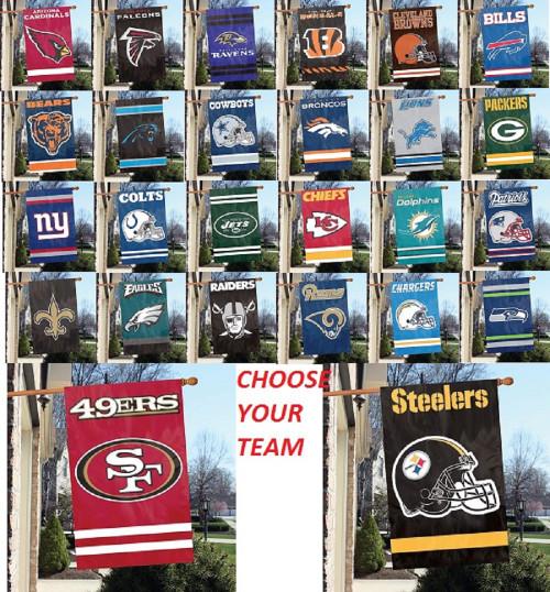 NFL Applique Banner Choose Your Team
