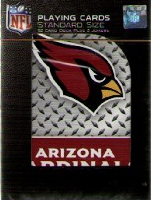 Official NFL Diamond Plate Playing Cards Choose Your Team