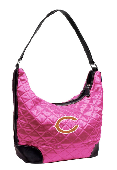 NFL Quilted Hobo Pink Purse Choose Your Team