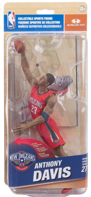 McFarlane NBA Series 27 Anthony Davis (New Orleans Pelicans) Chase 291/750