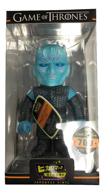 Classic Night King Hikari Sofubi Figure from Game of Thrones!