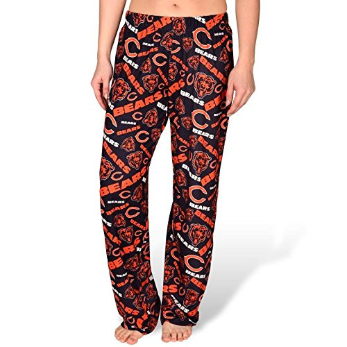 NFL Womens Repeat Polyester Print Lounge Pants Chicago Bears