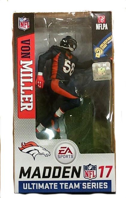 EA Sports Madden NFL 17 Ultimate Team Von Miller Denver Broncos CHASE