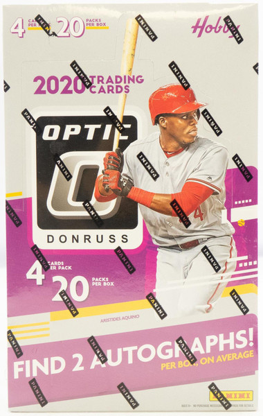 2020 Panini Donruss Optic Baseball Hobby Box