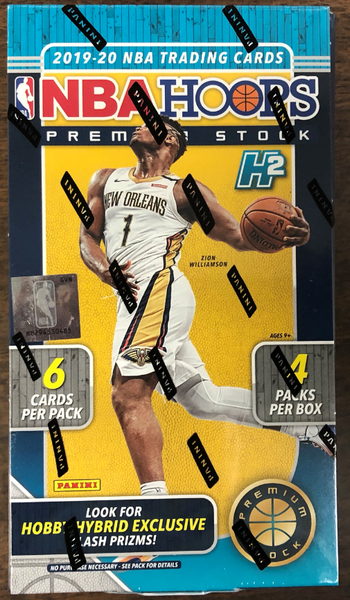 2019-20 Panini NBA Hoops Premium Stock Basketball Hobby Hybrid