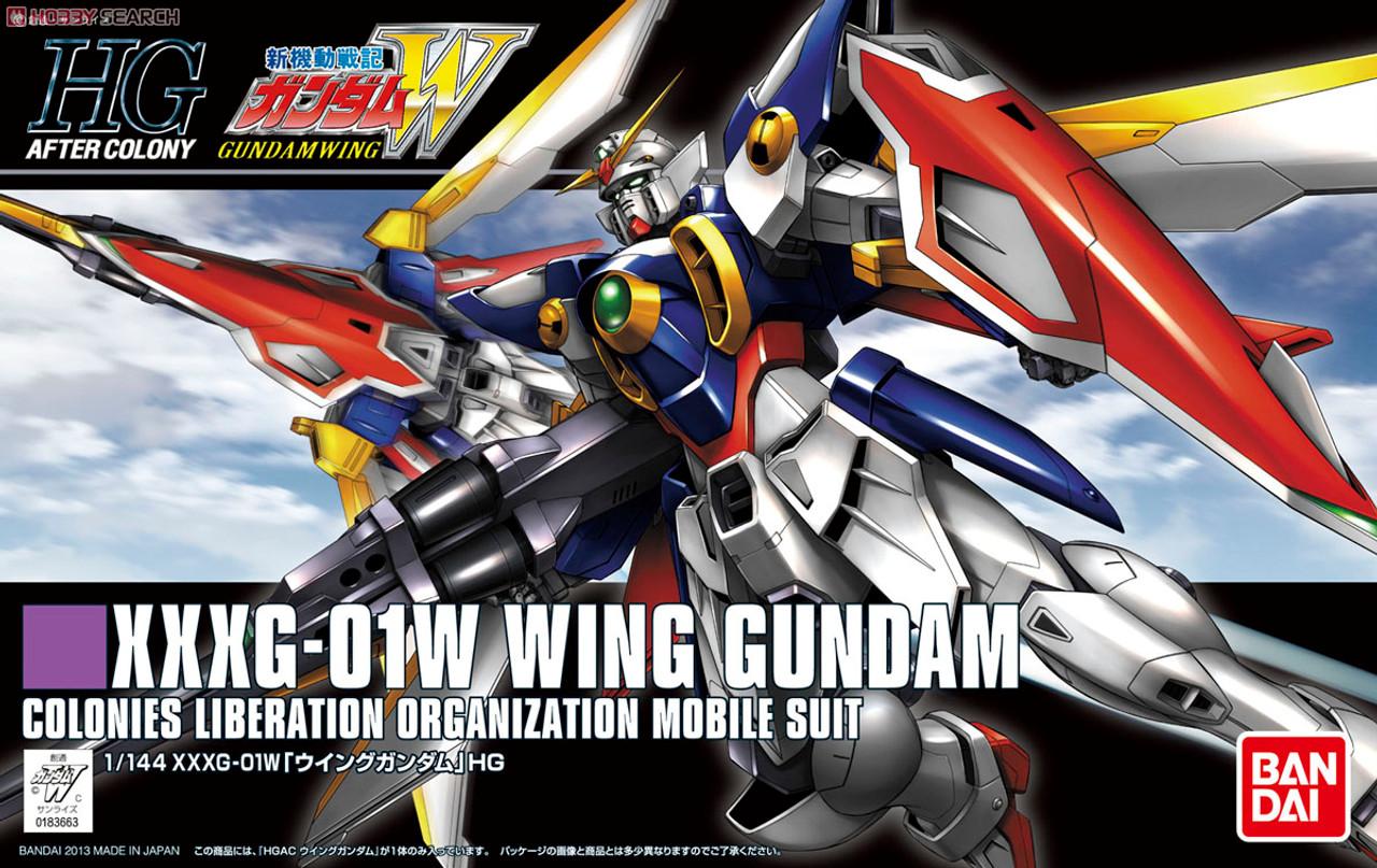 HGAC 1//144 XXXG-00W0 Wing Gundam Zero Mobile Suit Gundam W
