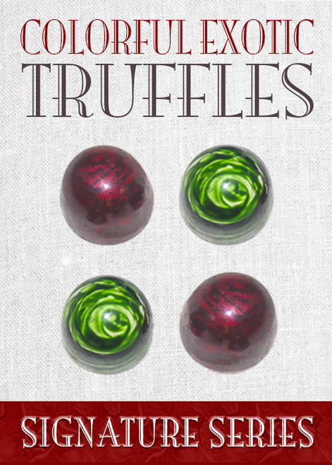 India Truffle Collection 4 Piece Box
