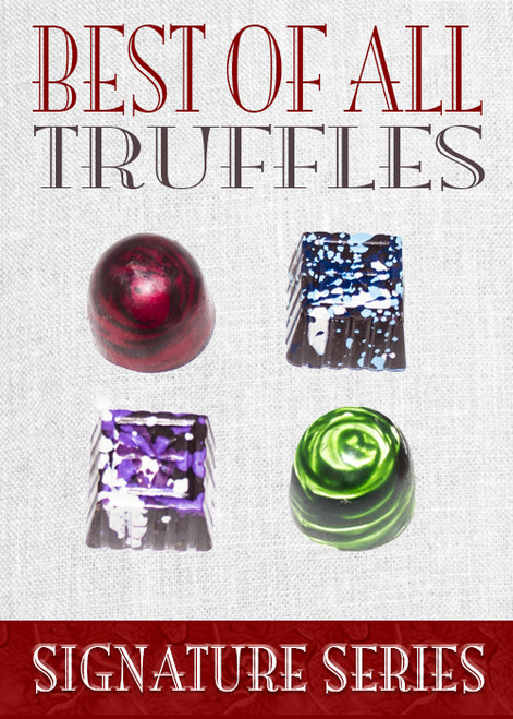 International Truffle Collection 4 Piece Box