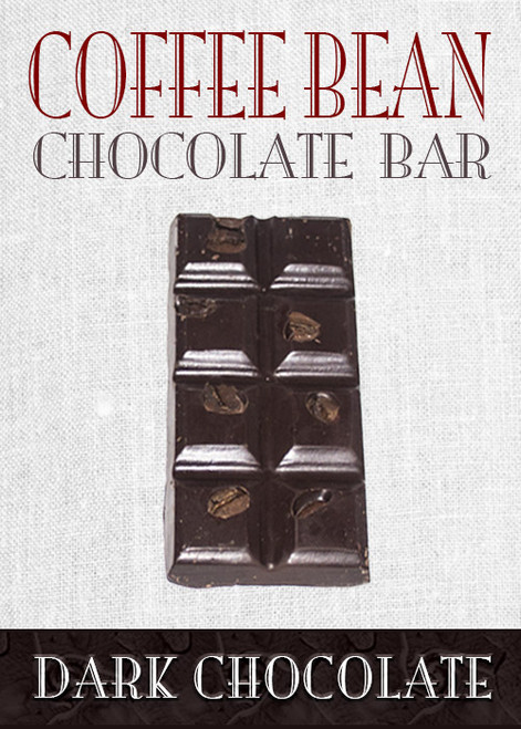 Dark Chocolate Coffee Bean Bar