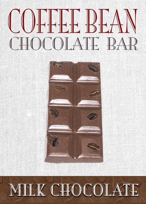 Milk Chocolate Coffee Bean Bar