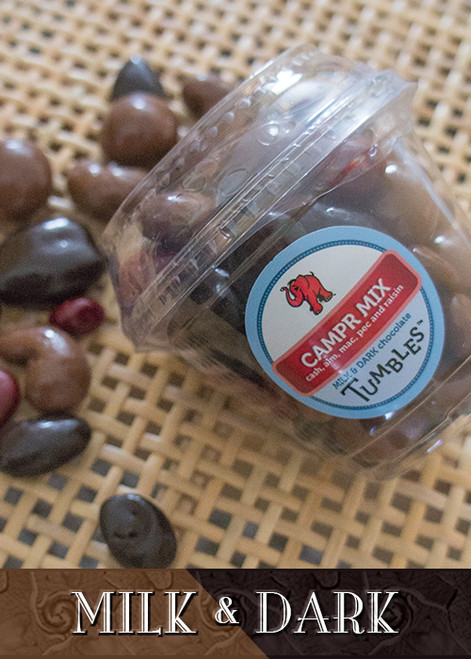 CAMPR Mix Chocolate Tumbled Trail Mix Large Packaged