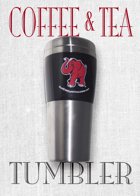 Red Elephant Coffee and Tea Tumbler