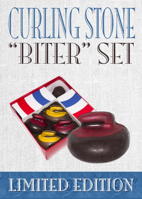 "Curling Chocolates ""Biter"" 1/4 House Set"