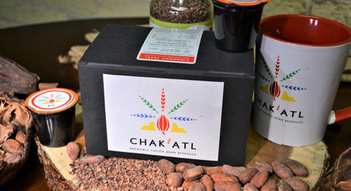 12 K-cups of Cinnamon Pearl - This is a combination of Ivory Coast Pearl Grind and Cinnamon Sticks