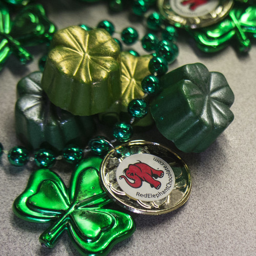 Bailey's and Guinness Flavored signature St. Patrick's Day truffles with necklace (in-store only)