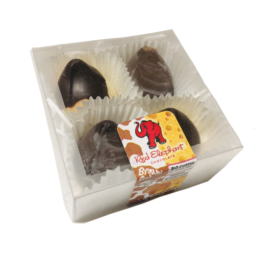 Brown Cow/Big Cheese Truffle 4 Piece box