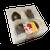 Brown Cow/Big Cheese Truffle 4 Piece box