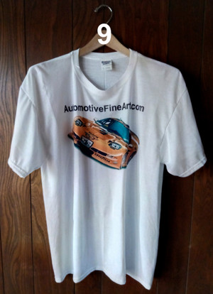 AutomotiveFineArt.com T-shirt (WHITE)