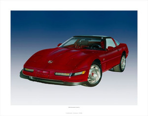 1993 CORVETTE 40TH ANNIVERSARY GICLEE