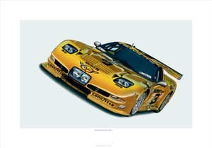 "2004 CORVETTE 'C5-R' ""THE LAST CORVETTE DALE RACED"" GICLEE"