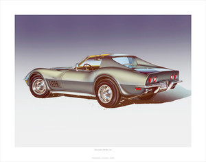1971 Corvette 'ZR-2' STEEL CITIES-GRAY