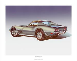 1971 Corvette 'ZR-2' STEEL CITIES-GRAY