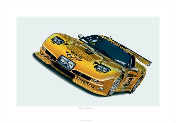"2004 CORVETTE 'C5-R' ""THE LAST CORVETTE DALE RACED"" GICLEE"