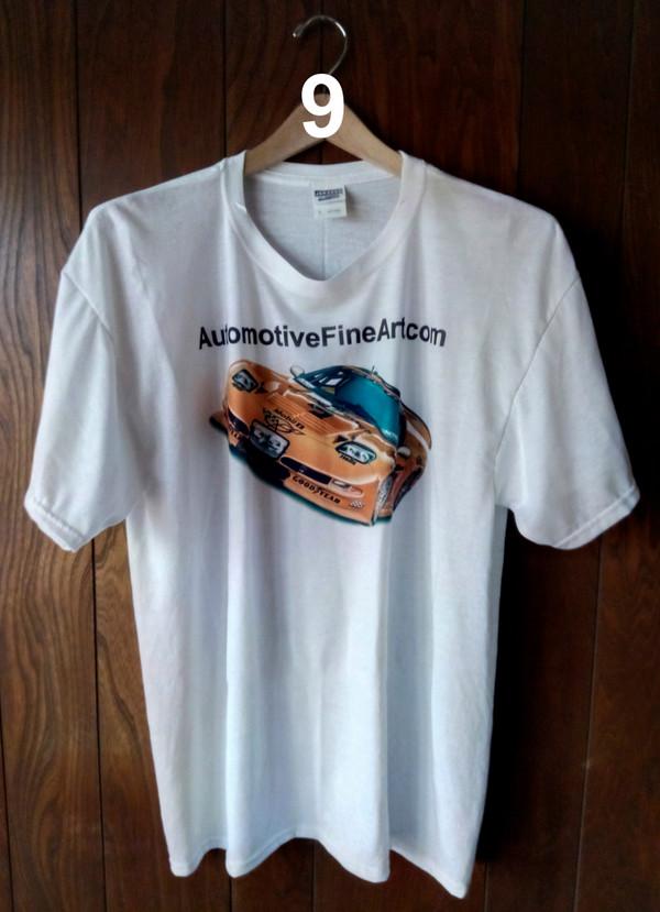 AutomotiveFineArt.com T-shirt (WHITE)