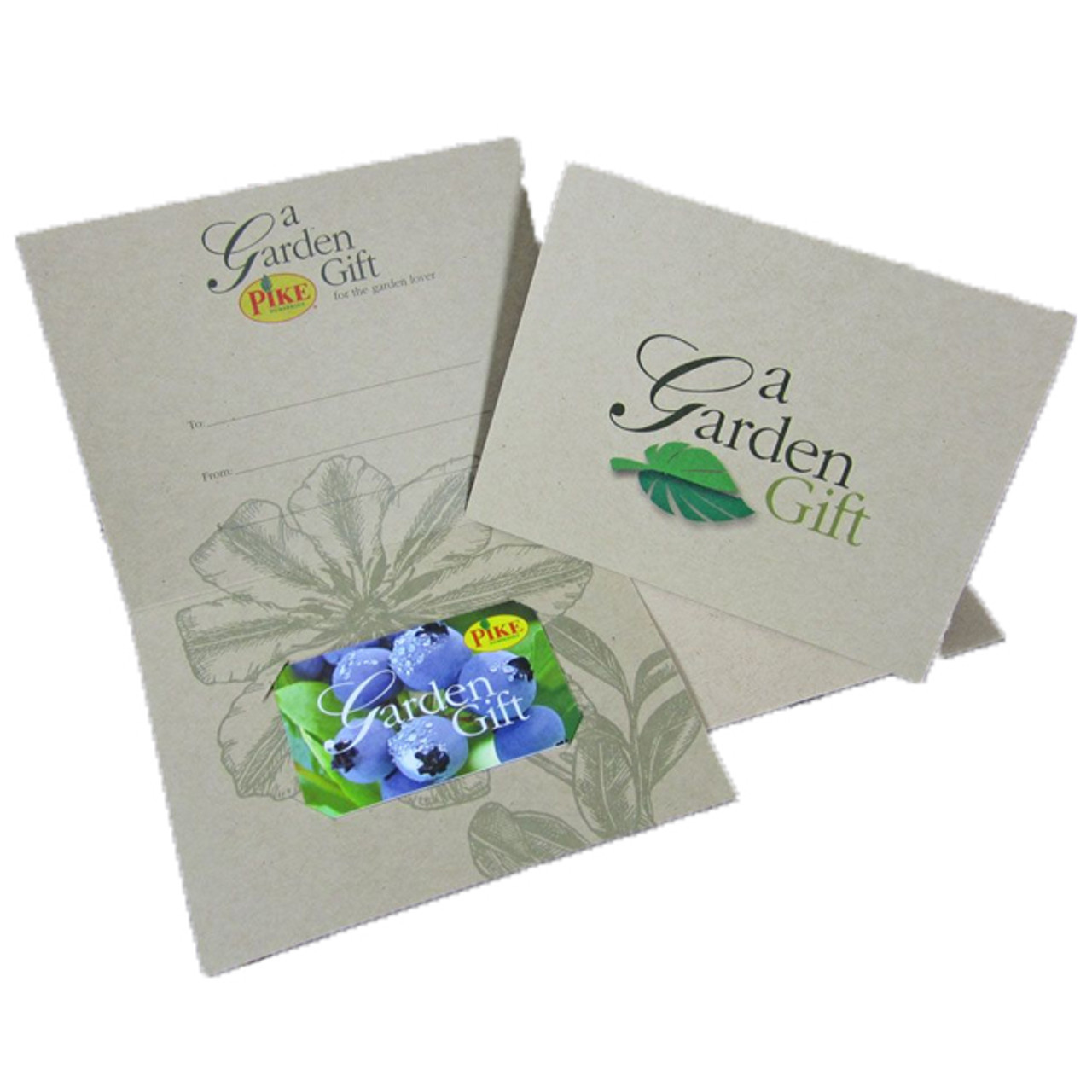 Garden Gift Cards by Mail