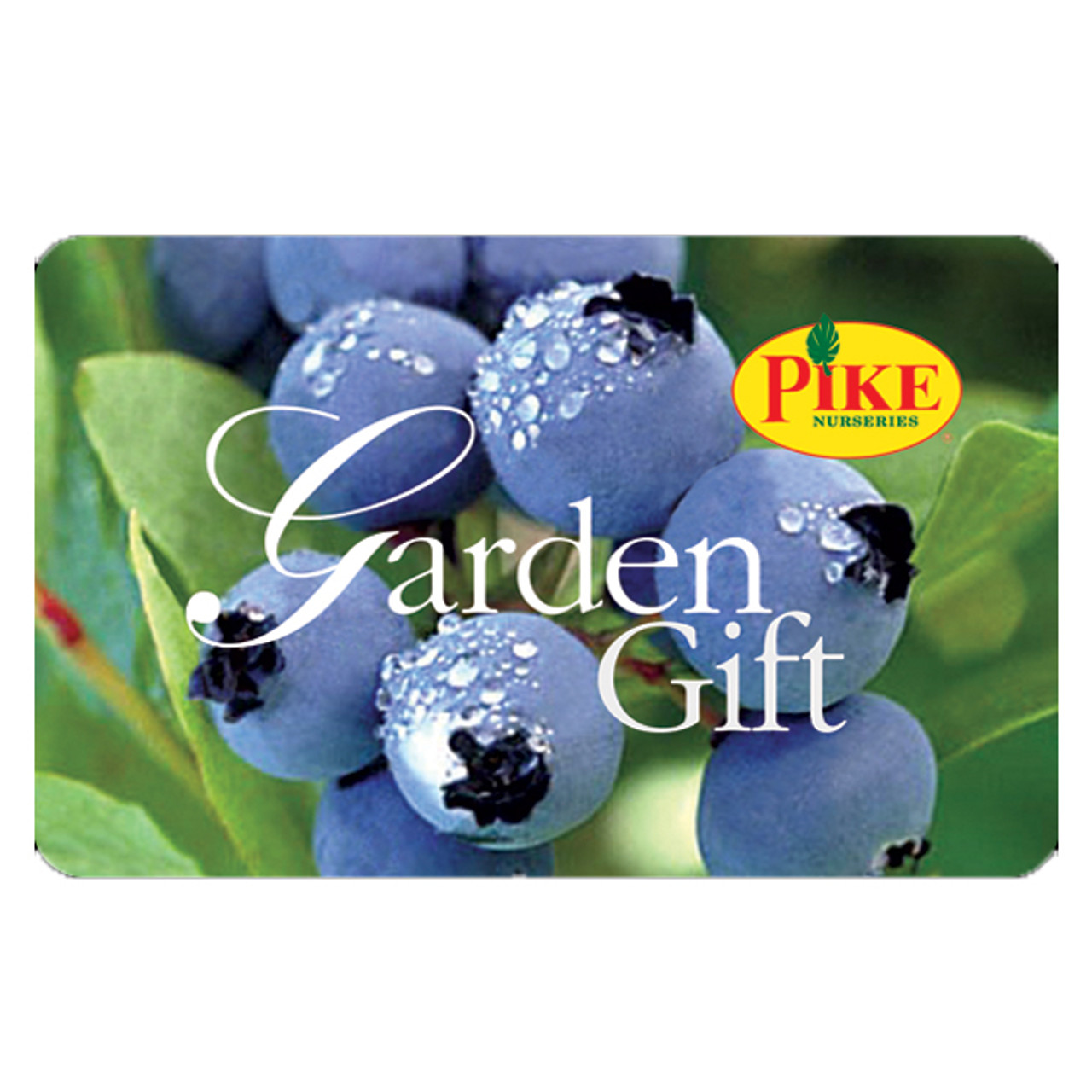 Garden Gift Cards by Email