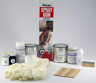 Gelcoat Professional Kit - Standard Whites (with or without sprayer)