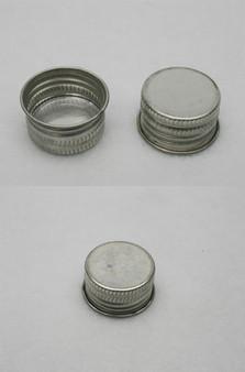 Cone Top Metal Screw Can Lids (Beta 1 1/8 inch)