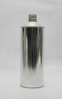 Empty Cone Top Can 32 oz Quart Steel Metal