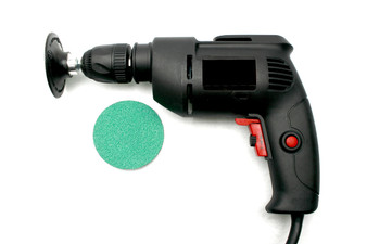 Variable Speed Drill Grinding Set Up