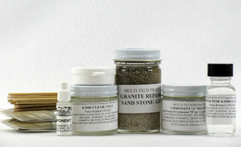 Granite Repair Kit to fix spa hot tub shell liner acrylic granite-All industry colors