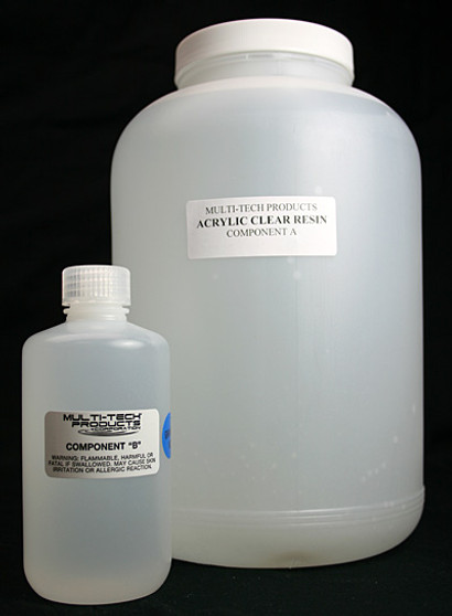 Acrylic Clear Resin Adhesive