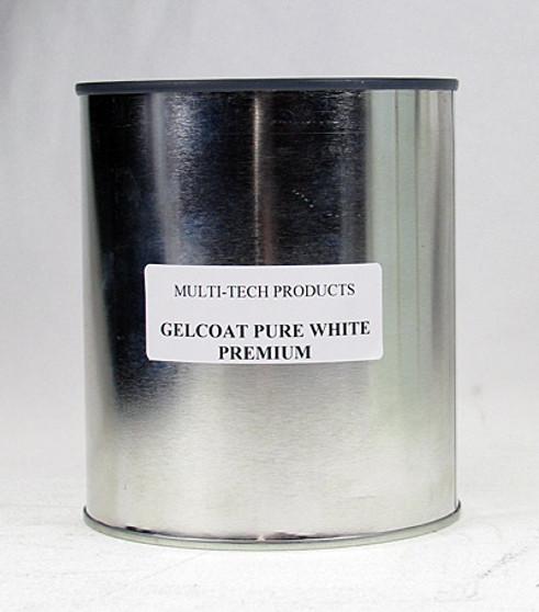 Gelcoat Resin - Premium, Pure White