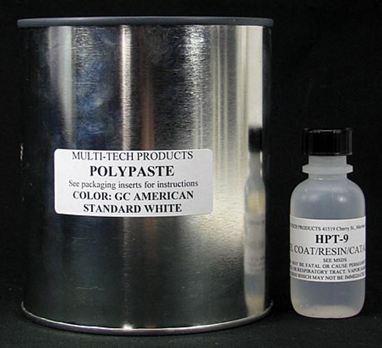 Gelcoat Repair Paste Kit - Standard Pastels