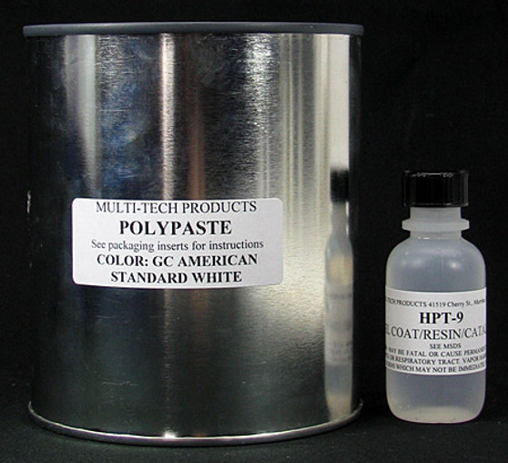 Gelcoat Repair Paste Kit - Obsolete Colors