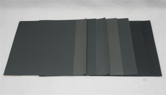 1500 Grit Carborundum silicon carbide diamond grit wet or dry sandpaper