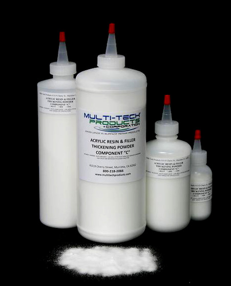 Acrylic Resin Filler Thickening Powder (Comp C)