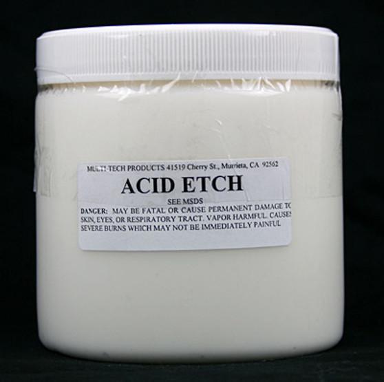 Acid Etch for Porcelain Repair