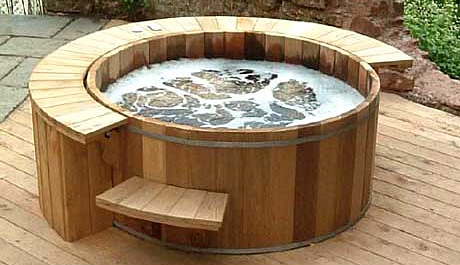 Wooden Spa / Hot Tub