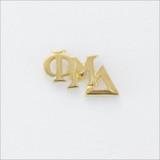 ΦΜΔ Monogram Lapel Pin