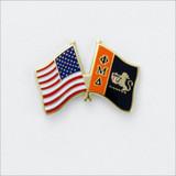 ΦΜΔ Flag Pin